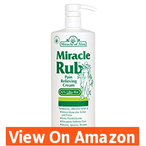 Miracle Rub Pain Relieving Cream 32 Oz