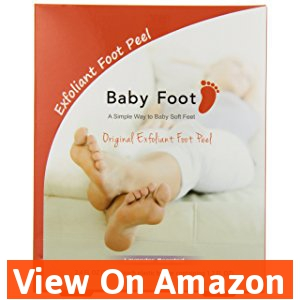 Baby Foot Deep Exfoliation for Feet peel, lavender scented