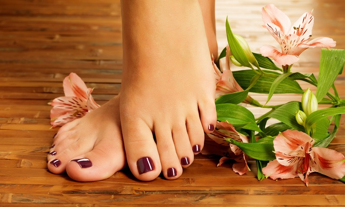 Indulge in a foot massage
